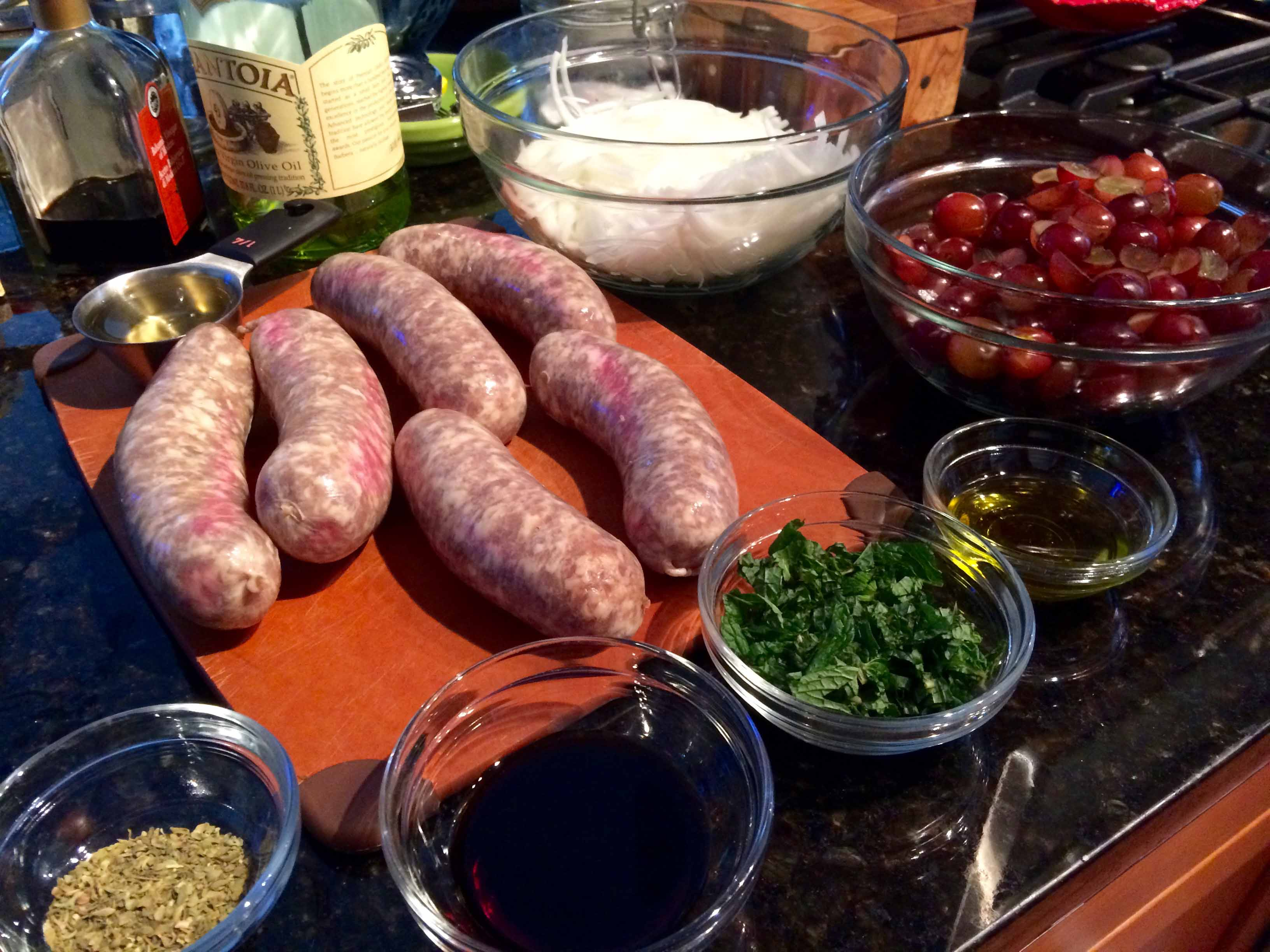 Sausage And Grapes America S Test Kitchen
