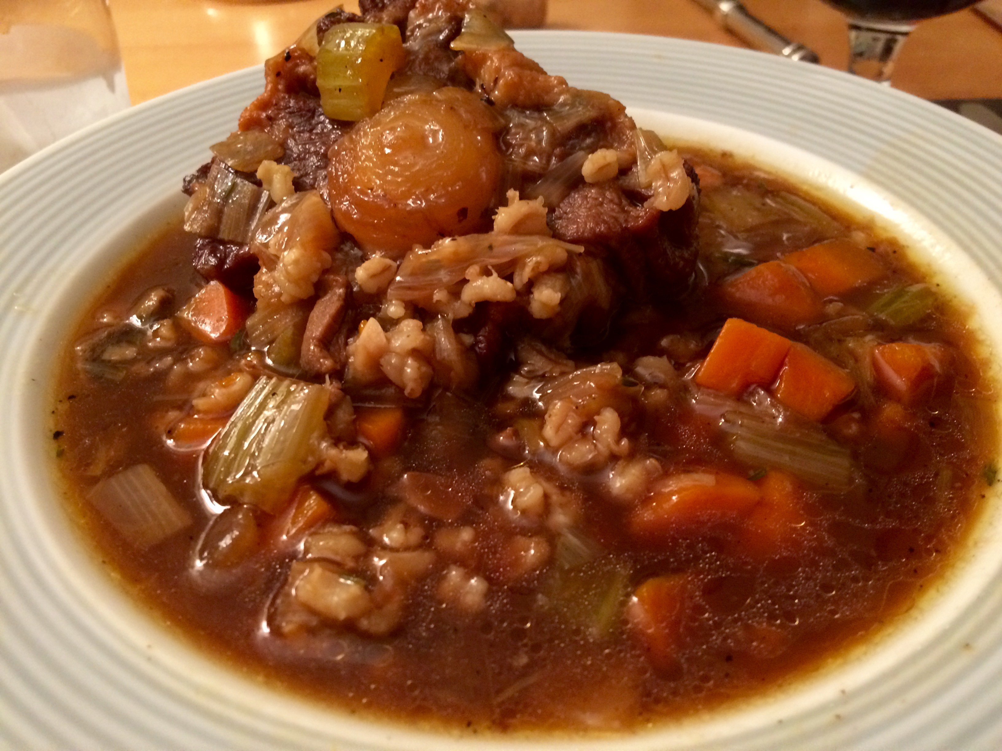 My Better Half Asked For Beef Barley A Childhood Favorite So After Searching My Cookbooks And The Internet